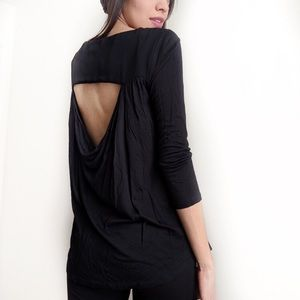 NEW Alice and Olivia Open Back Top